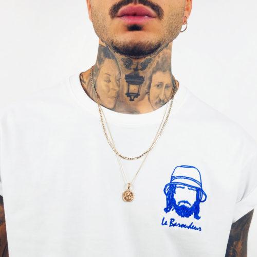 tee-shirt pièce rare créateur parisien Edgard Paris