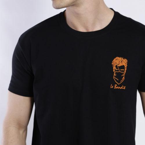 tee-shirt créateur français brodé edgard paris