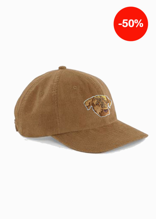 Casquette camel broderie made in france