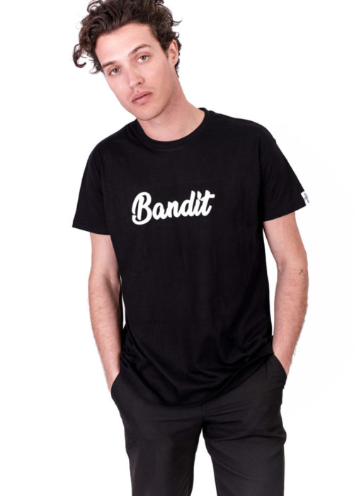 Tee-shirt made in France noir Bandit