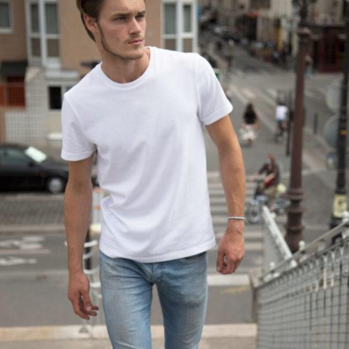 t-shirt blanc éco-responsable ulule Edgard