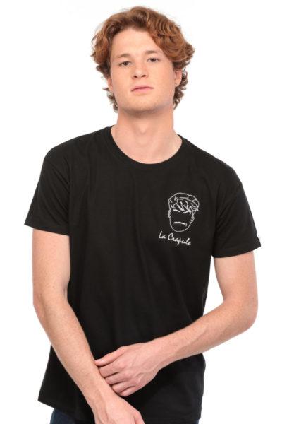 T-shirt La Crapule noir Edgard Paris