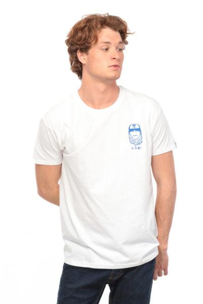 T-shirt Le Surfer blanc Edgard Paris