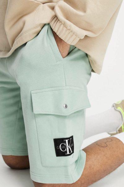 Pépite de la semaine Short vert Calvin Klein