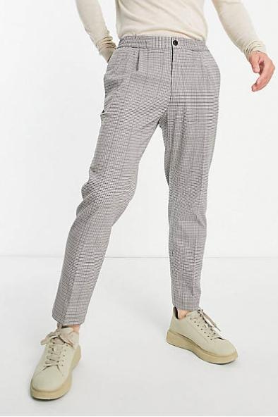 Pantalon gris homme