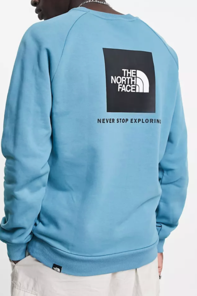 pull bleu The North Face